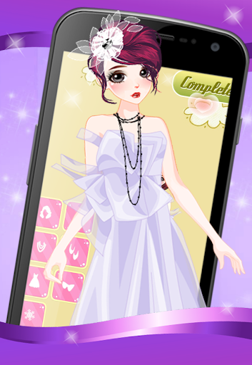 Dress Up Girls Salon Style