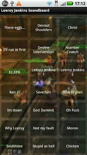 Leeroy Jenkins Soundboard- screenshot thumbnail