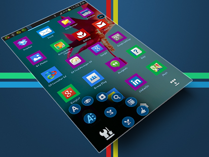 Windows 8 Next Launcher Theme - screenshot thumbnail