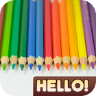 Hello Color Pencil icon