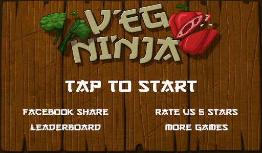 Veggie Ninja Slice
