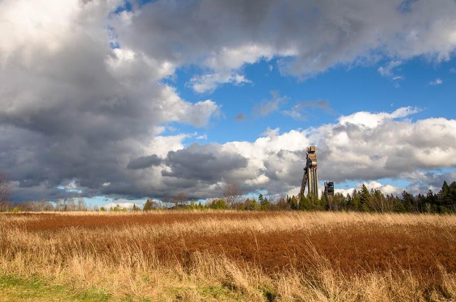 John Brown Farm by Kim Verstringhe - Landscapes Prairies, Meadows & Fields ( ski jumps, olympics, lake placid )