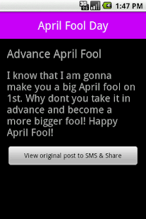 April Fool Day - screenshot thumbnail
