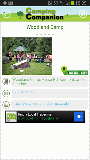 【免費旅遊App】Camping Companion-APP點子
