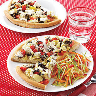 Flatbread Veggie Pizza Recipes.