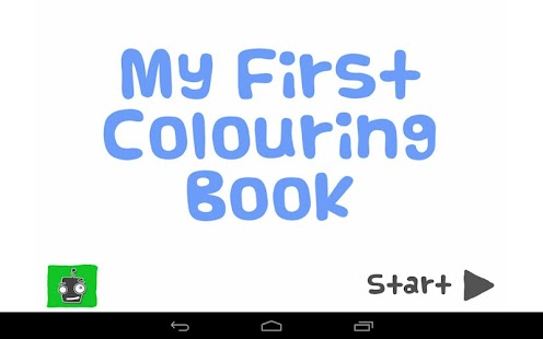 My First Colouring Book