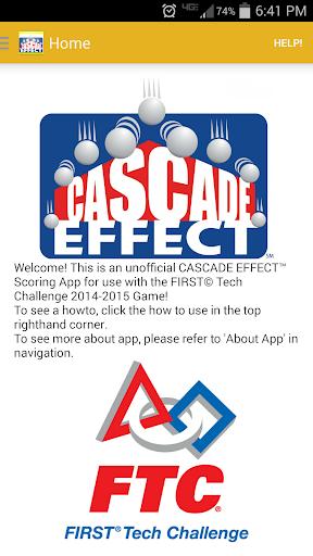 CASCADE EFFECT Scoring for FTC