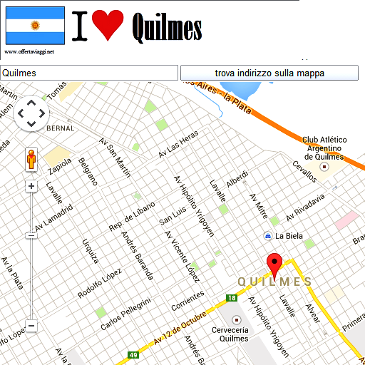 Quilmes maps