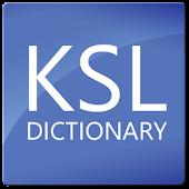 KSL Dictionary