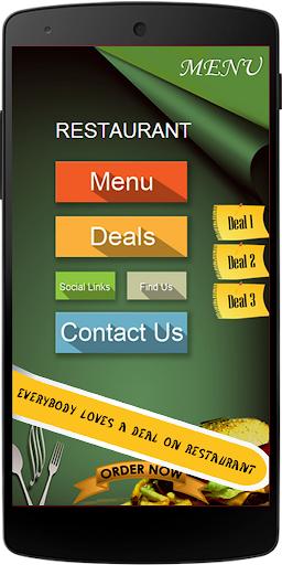 CMA Restaurant App