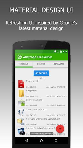 WFS: WA File Sender