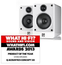 Q Acoustics Concept 20, from Vincent Audio in the UK