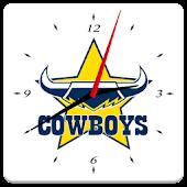North Queensland Cowboys Clock