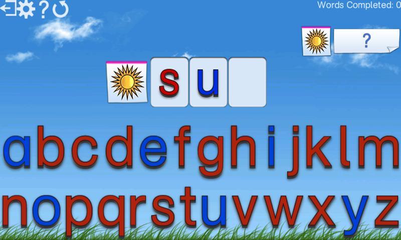 Montessori Words & Phonics- screenshot