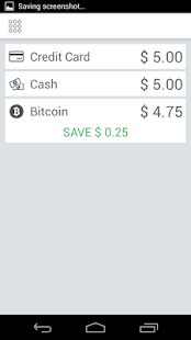 Coinbox: Bitcoin point of sale- screenshot thumbnail