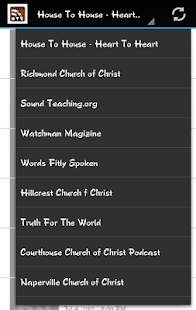 Church of Christ RSS Feeds - screenshot thumbnail