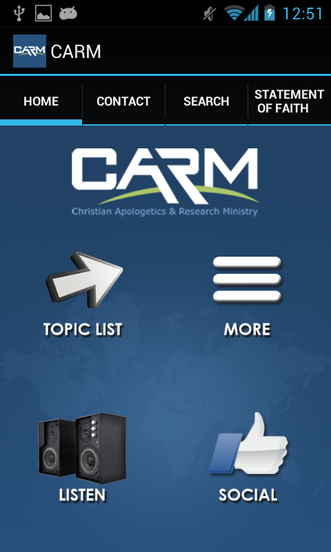 CARM - screenshot
