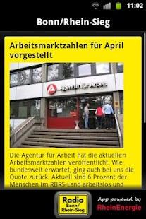 Radio Bonn/Rhein-Sieg- screenshot thumbnail