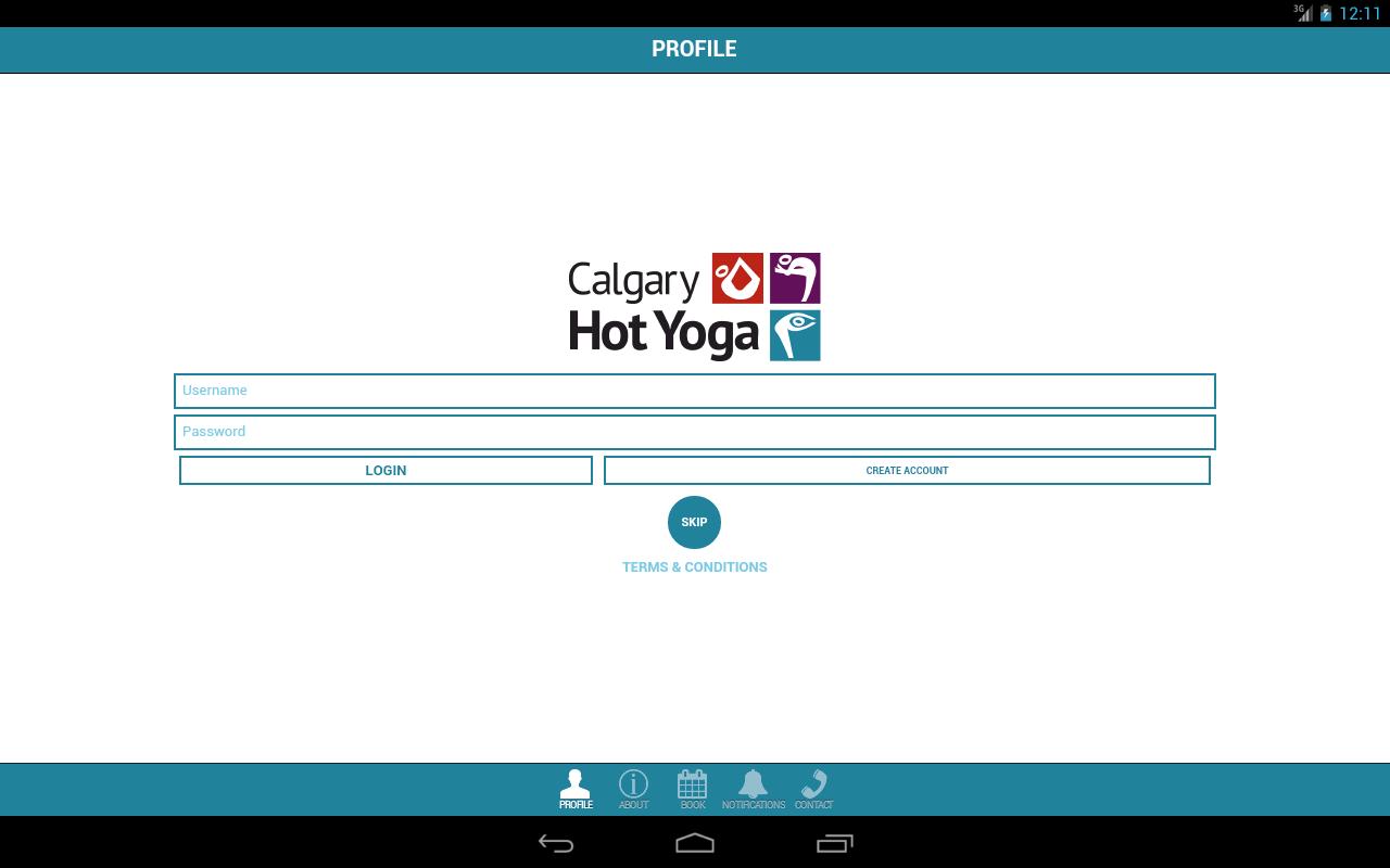 Calgary Hot Yoga - screenshot