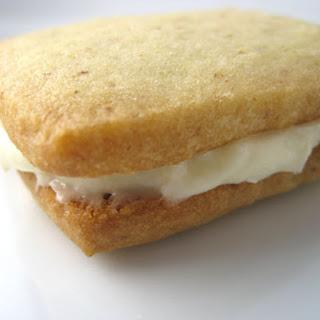 Walnut Cream Cheese Sandwich Cookies.