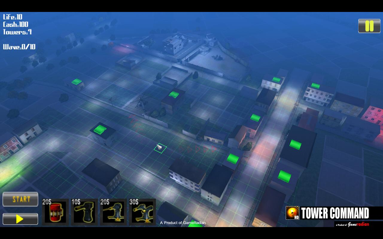 Tower Command HD- screenshot