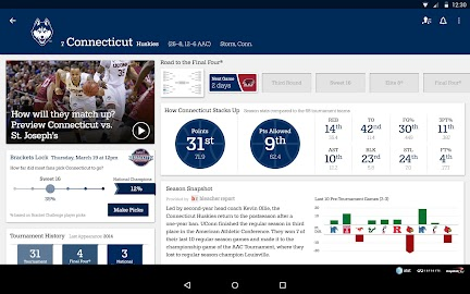 NCAA March Madness Live Screenshot 13