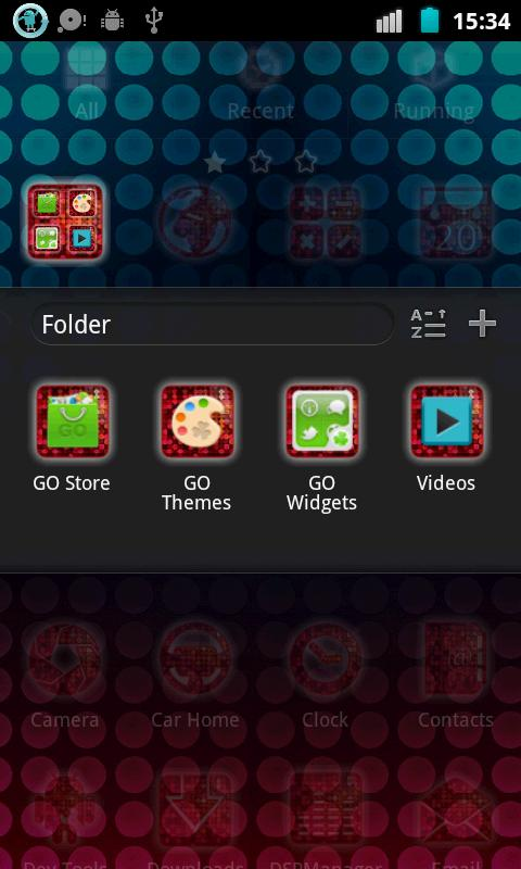 Disco Fever Go Launcher Theme - screenshot