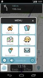 Waze Social GPS Maps & Traffic Screenshot 2
