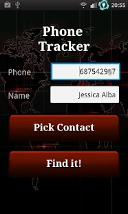 The Tracker: Track phone/calls - screenshot thumbnail