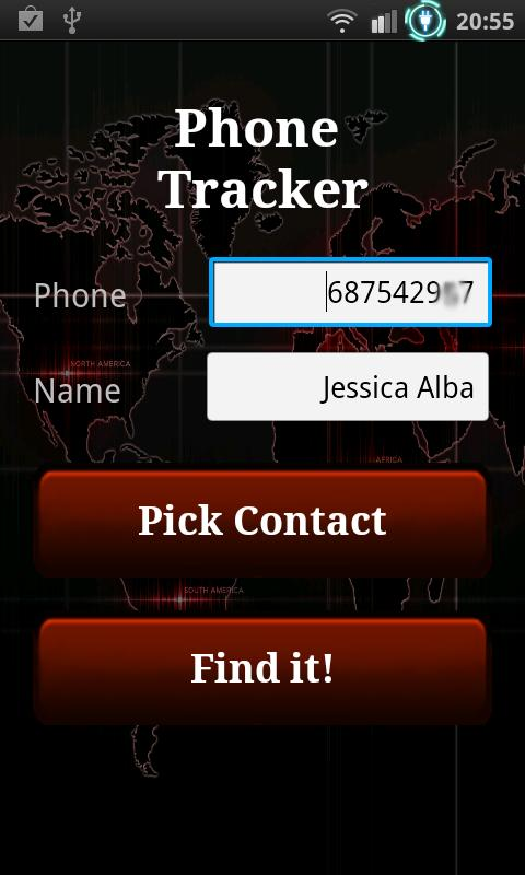 The Tracker: Track phone/calls - screenshot