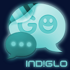 NEON IND!GLO Theme for GO SMS icon