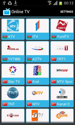 Online TV - скачать телевизор на андроид 2.2-4.0