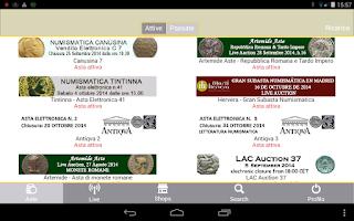 Screenshot of DeaMoneta Mobile