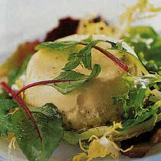 Warm Goat-Cheese Timbales.