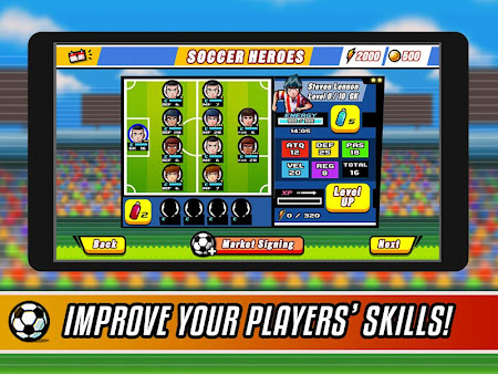 Soccer Heroes RPG 1.1.0 screenshot 38025