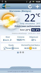 Pogoda TVN Meteo - screenshot thumbnail