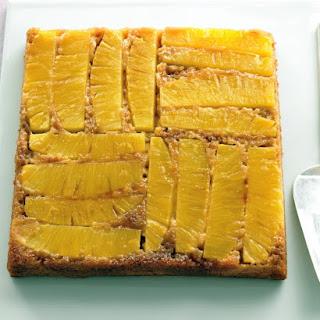 Light Pineapple Upside-Down Cake