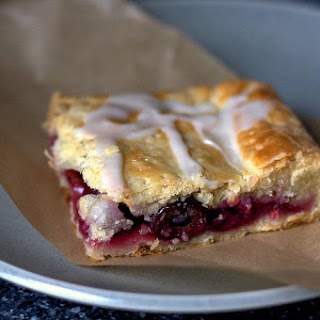 Sour Cherry Slab Pie