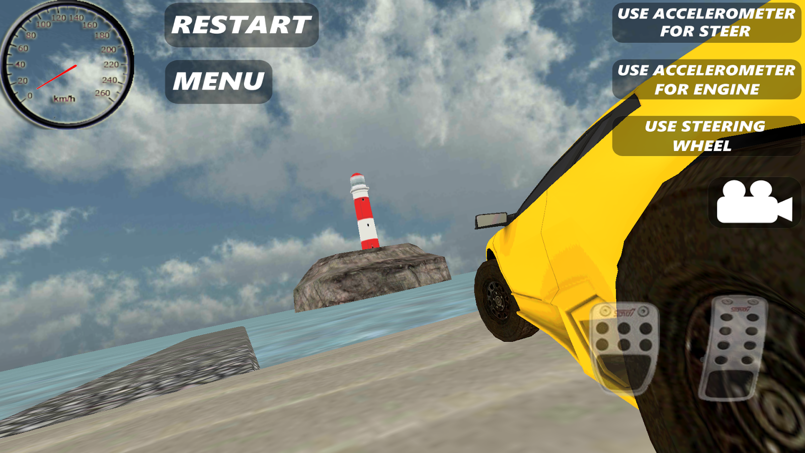 Sport Car Simulator HD- screenshot
