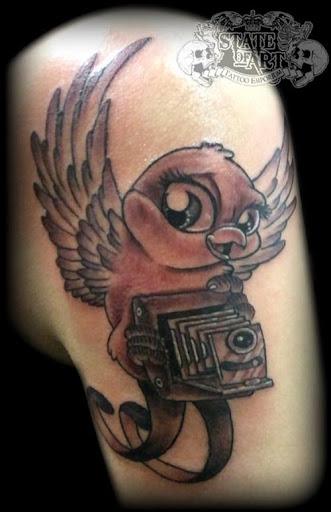 كاميرا الوشم Tatouage camera