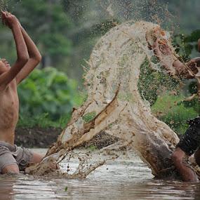 mud by Haris Fallin - Babies & Children Children Candids