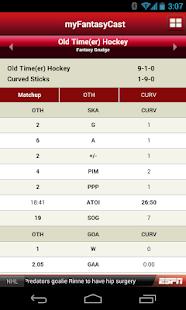 ESPN Fantasy Hockey Screenshot 3