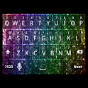 Rainbow Glitter Keyboard Skin icon