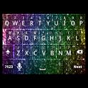 Rainbow Glitter Keyboard Skin icon