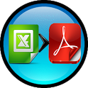 Excel to PDF Converter icon