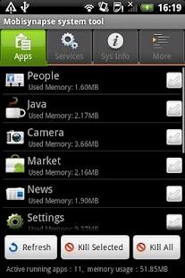 Mobisynapse system tool- screenshot thumbnail