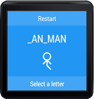 Hangman for Android Wear