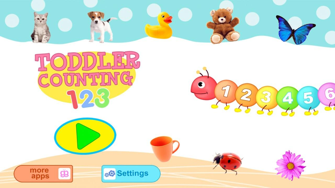 toddler counting 123 kids free screenshot - Free Cartoons For Toddlers