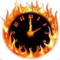 Fire Clock With Alarm icon