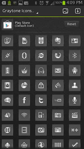 【免費個人化App】ICON SET|Graytone-APP點子